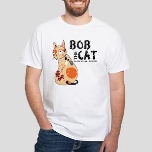Bob The Cat White T-Shirt