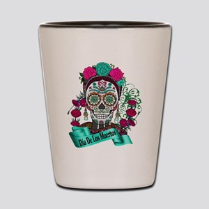 Best Seller Sugar Skull Shot Glass
