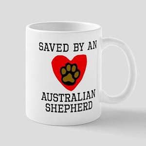 Saved By An Australian Shepherd Mugs