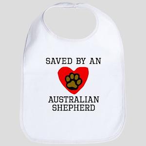 Saved By An Australian Shepherd Bib
