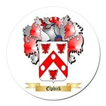 Elphick Round Car Magnet