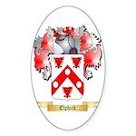 Elphick Sticker (Oval 10 pk)
