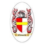 Ellsworth Sticker (Oval 10 pk)