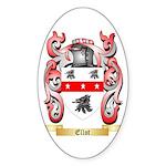 Ellot Sticker (Oval 50 pk)