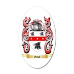 Ellot 20x12 Oval Wall Decal