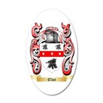 Ellot 35x21 Oval Wall Decal