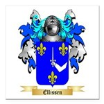Ellissen Square Car Magnet 3