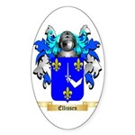 Ellissen Sticker (Oval 10 pk)