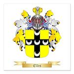 Ellis Square Car Magnet 3