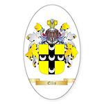 Ellis Sticker (Oval 10 pk)