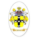 Ellis Sticker (Oval 50 pk)