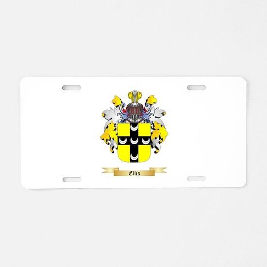 Ellis Aluminum License Plate