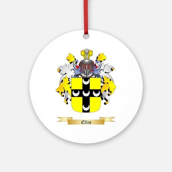 Ellis Ornament (Round)
