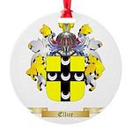 Ellice Round Ornament