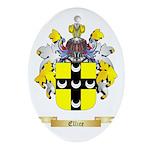 Ellice Ornament (Oval)