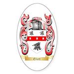 Ellett Sticker (Oval 10 pk)