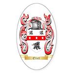 Ellett Sticker (Oval 50 pk)