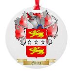 Elkins Round Ornament