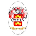 Elkins Sticker (Oval 50 pk)