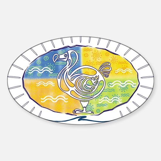 The first dodo Oval Decal