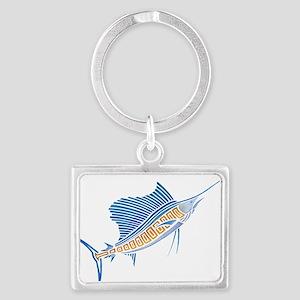 Tribal Sailfish Keychains
