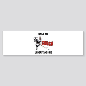 HOCKEY COACH Bumper Sticker