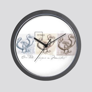 drawing dodo Wall Clock