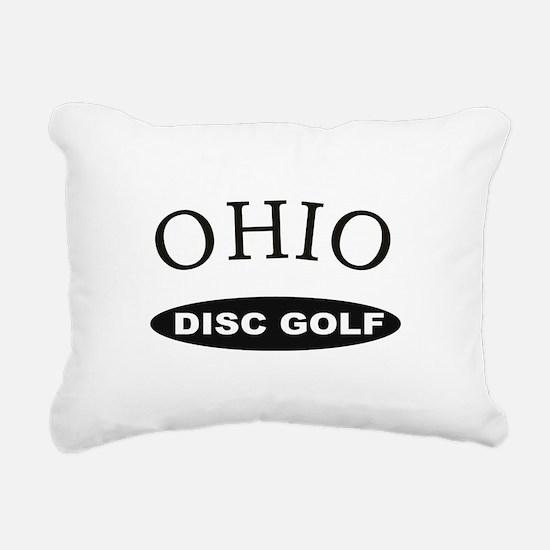 Ohio Disc Golf Rectangular Canvas Pillow