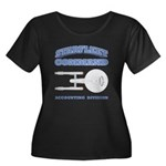 Starfleet Accounting Division Women's Plus Size Sc