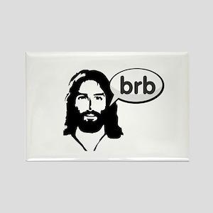 Jesus brb Magnets