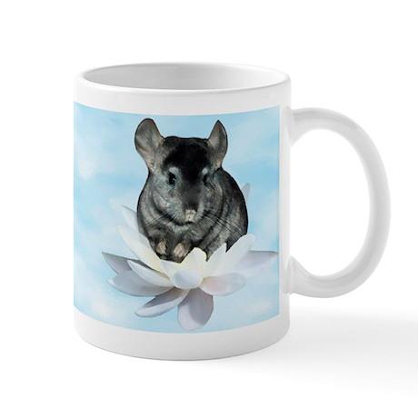 Chin Lily Blue Mug
