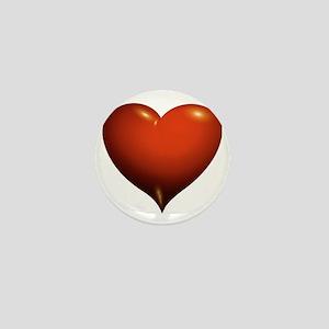 Heart of Love Mini Button