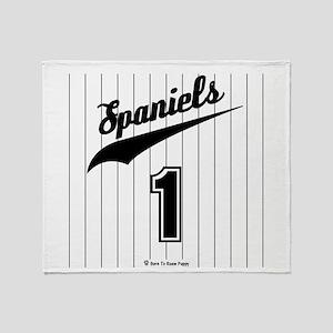 Spaniel Throw Blanket
