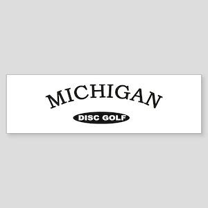 Michigan Disc Golf Sticker (Bumper)