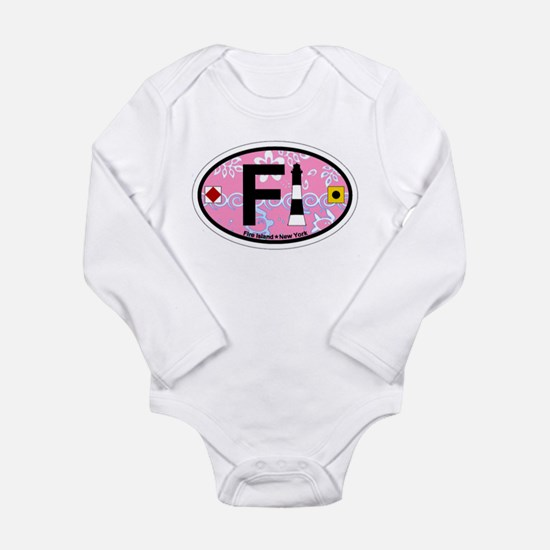 Fire Island - Oval Design Infant Bodysuit Body Sui