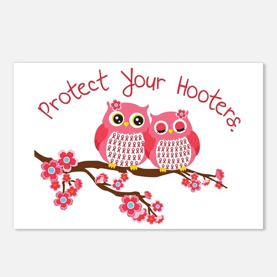 Protect Your Hooters Postcards (Package of 8)