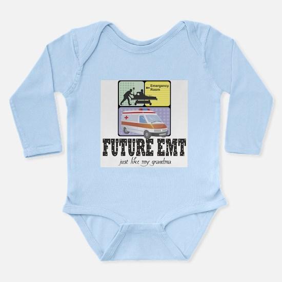 Future EMT Like Grandma Baby Infant Bodysuit Body