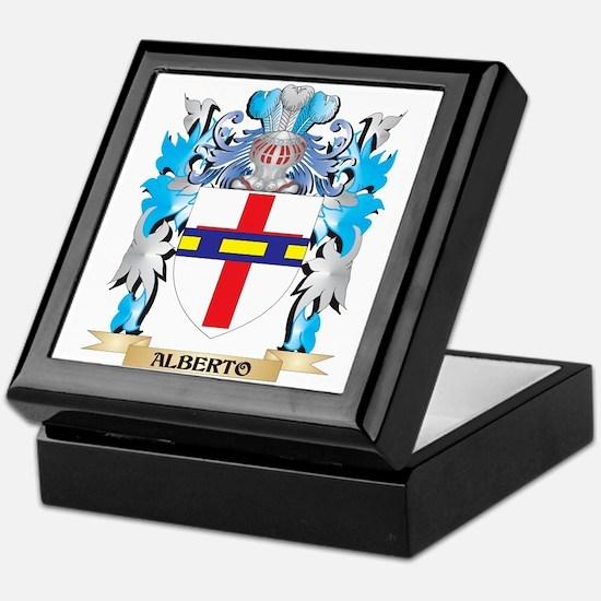 Alberto Coat Of Arms Keepsake Box