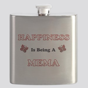 Happiness Is Being A Mema Flask