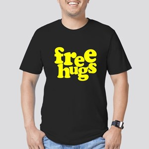 Free Hugs Men's Fitted T-Shirt (dark)