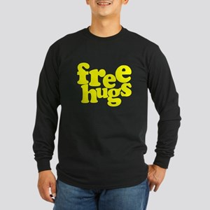 Free Hugs Long Sleeve Dark T-Shirt