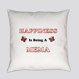 Happiness Is Being A Mema Everyday Pillow