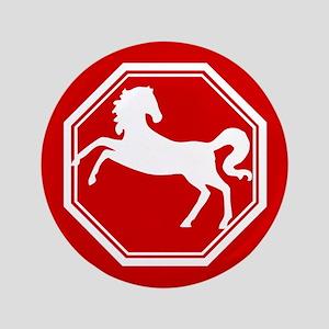 """Horse 3.5"""" Button"""