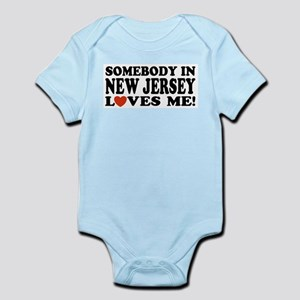 Somebody in New Jersey Loves Infant Bodysuit