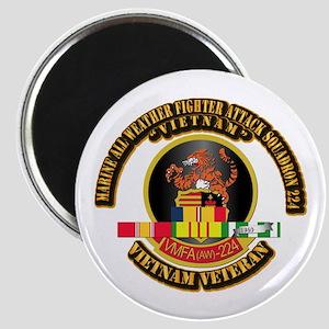 USMC - VMFA(AW) - 224 w VN SVC Ribbon Magnet