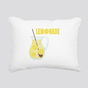 LEMONADE Rectangular Canvas Pillow