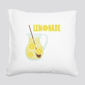 LEMONADE Square Canvas Pillow