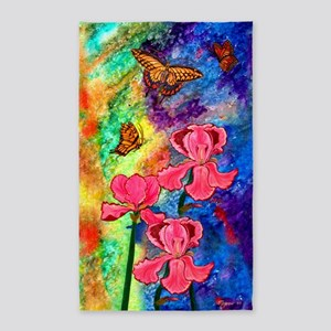 Swallowtail Attraction 3'X5' Area Rug