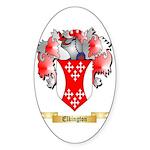 Elkington Sticker (Oval 50 pk)
