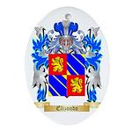 Elizondo Ornament (Oval)